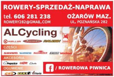 ALCycling – rowery – sprzedaż – naprawa