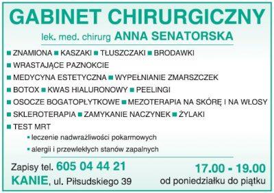 Gabinet Chirurgiczny lek. med. chirurg Anna Senatorska