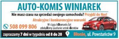 AUTO-KOMIS WINIAREK