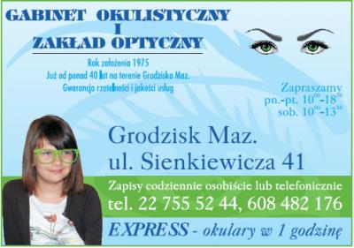 Gabinet Okulistyczny i Zakład Optyczny