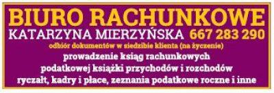 BIURO RACHUNKOWE Katarzyna Mierzyńska