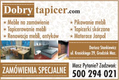 Dobry tapicer – Dariusz Stankiewicz
