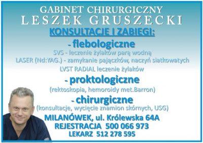Gabinet Chirurgiczny Leszek Gruszecki