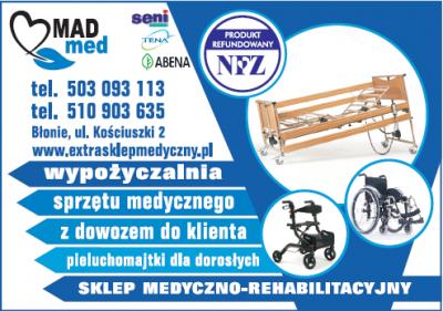 MAD MED Sklep medyczno-rehabilitacyjny