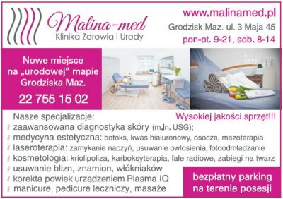 Malina – med