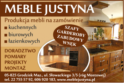 MEBLE JUSTYNA