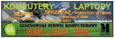 M FACTOR – Lesznowski Serwis Komputerowy