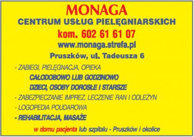 MONAGA Centrum Usług Pielęgniarskich S.C.