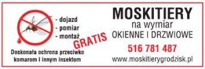 MOSKITIERY GRODZISK