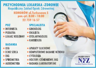 Przychodnia lekarska – Zdrowie
