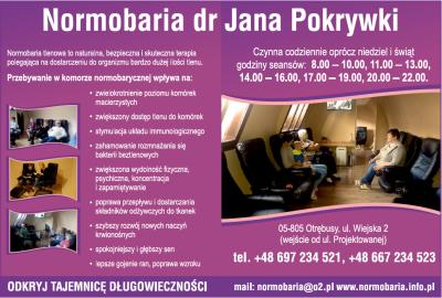 Normobaria dr Jana Pokrywki
