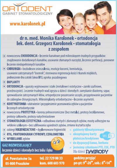 ORTODENT – Gabinet Stomatologiczny