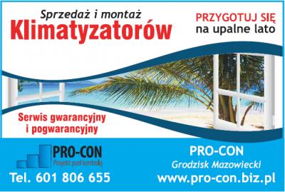 PRO-CON projekt pod kontrolą