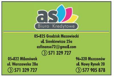 As Biuro Kredytowe