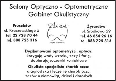 Salony Optyczno – Optometryczne Gabinet Okulistyczny Rutkowski