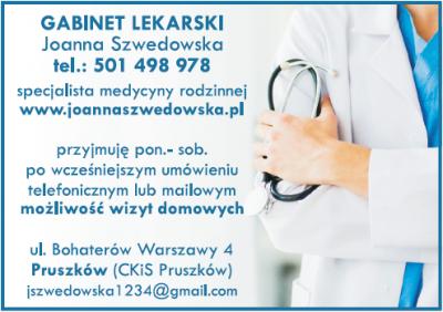 Gabinet Lekarski – Joanna Szwedowska