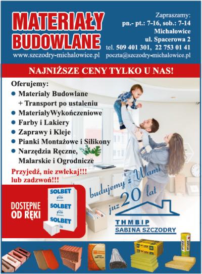Materiały Budowlane THMBIP – Sabina Szczodry