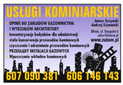 Usługi Kominiarskie – Zukom