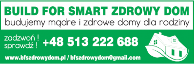 BUILD FOR SMART – ZDROWY DOM