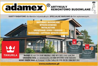 ADAMEX – materiały budowlane