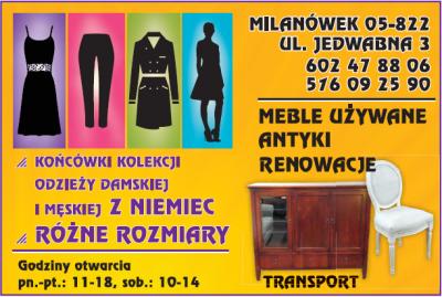 Meble Antyki Renowacje / Odzież damska