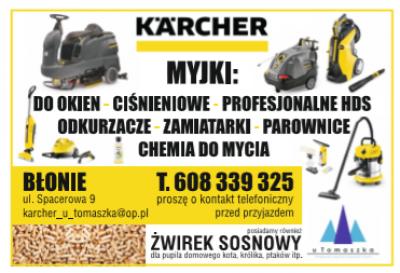 Karcher u Tomaszka