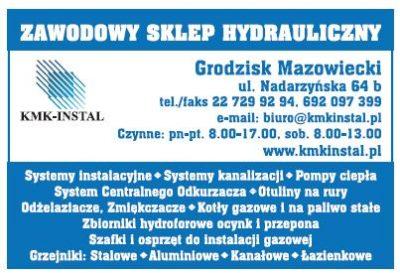 KMK-INSTAL zawodowy sklep hydrauliczny