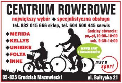 Maro Sport – CENTRUM ROWEROWE
