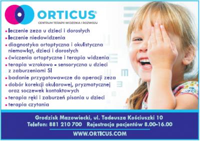 Centrum Terapii Widzenia i Rozwoju ORTICUS