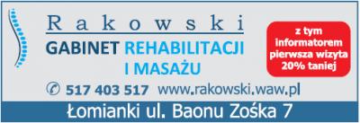 Gabinet Rehabilitacji i Masażu RAKOWSKI