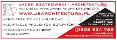 JACEK SZATKOWSKI – ARCHITEKTURA