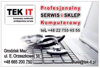 TEK IT Profesjonalny serwis i sklep komputerowy