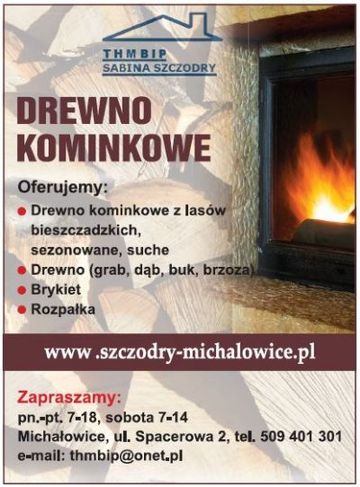 DREWNO KOMINKOWE THMBIP Sabina Szczodry