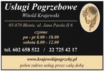 Usługi Pogrzebowe – Witold Krajewski